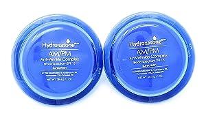 2Packs Hydroxatone AM/PM Anti-Wrinkle Complex SPF 15, 1 Oz