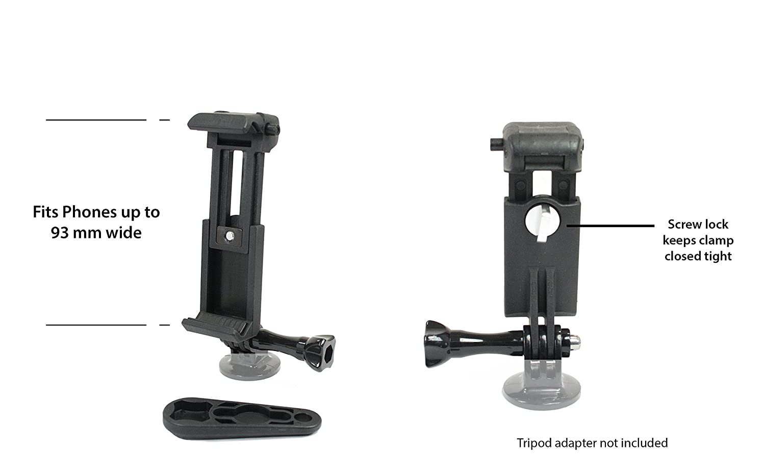 Action Mount Wearable Backpack Clip And Phone Holder Wiring Harness Setup Compatible System With Battery Pack Sport Camera