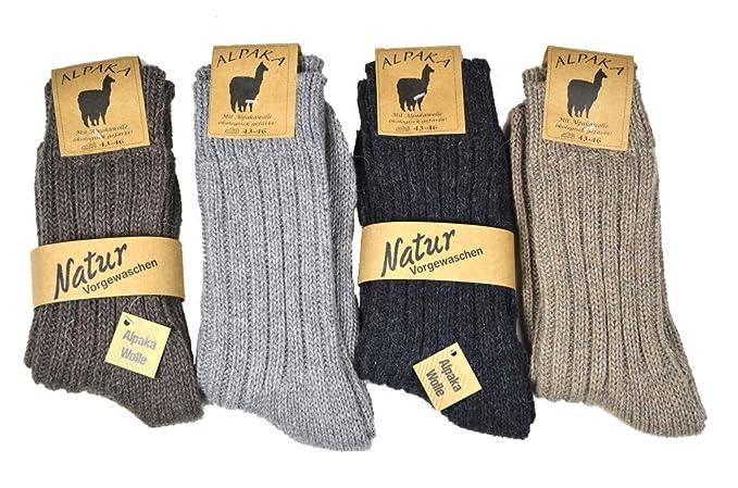 a poco prezzo a poco prezzo fashion style 2 oppure 4 Pack spessore alpaca-calze per uomo e donna; La più caldi woll  calze di testa, spessore calzino taglia corda 35/38 39/42 43/46 keyton