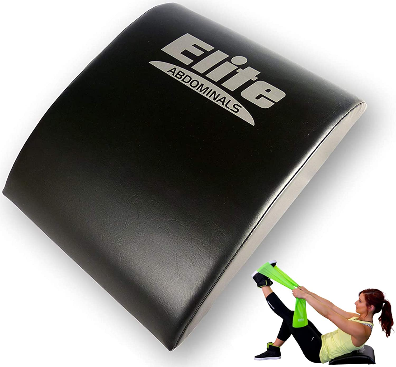 Elite Sportz Abdominal Sit Up Pad and Gives Great Lower Back Support, Helping to Remove All The Strain, Making Sit Ups Easy - Bonus Resistance Band Included : Sports & Outdoors