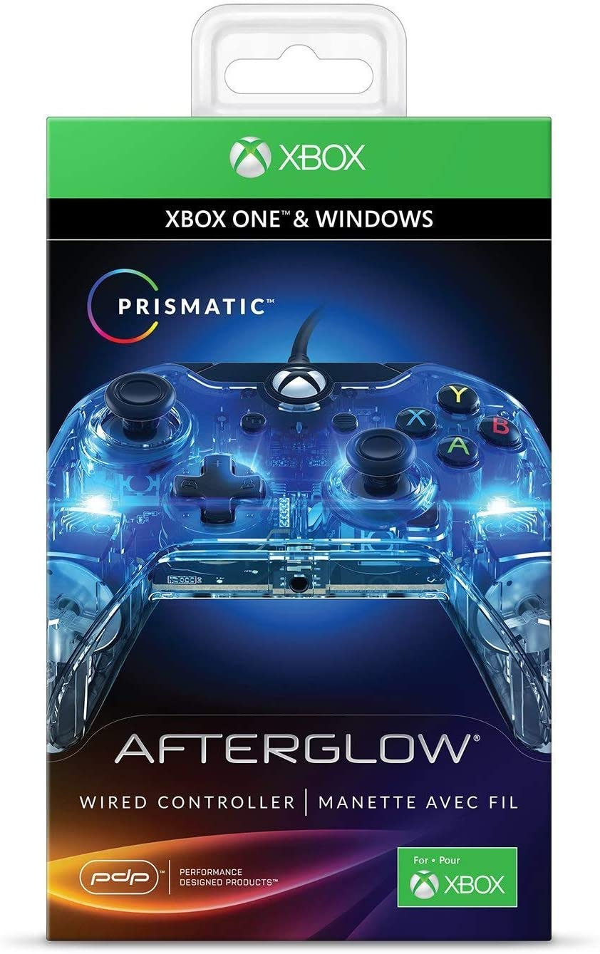 Wired Xbox One Controller Keeps Disconnecting: Amazon.com: PDP Afterglow Prismatic Wired Controller for Xbox One rh:amazon.com,Design