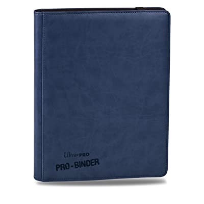 Premium PRO-Binder 9-Pocket Cards, Blue: Toys & Games