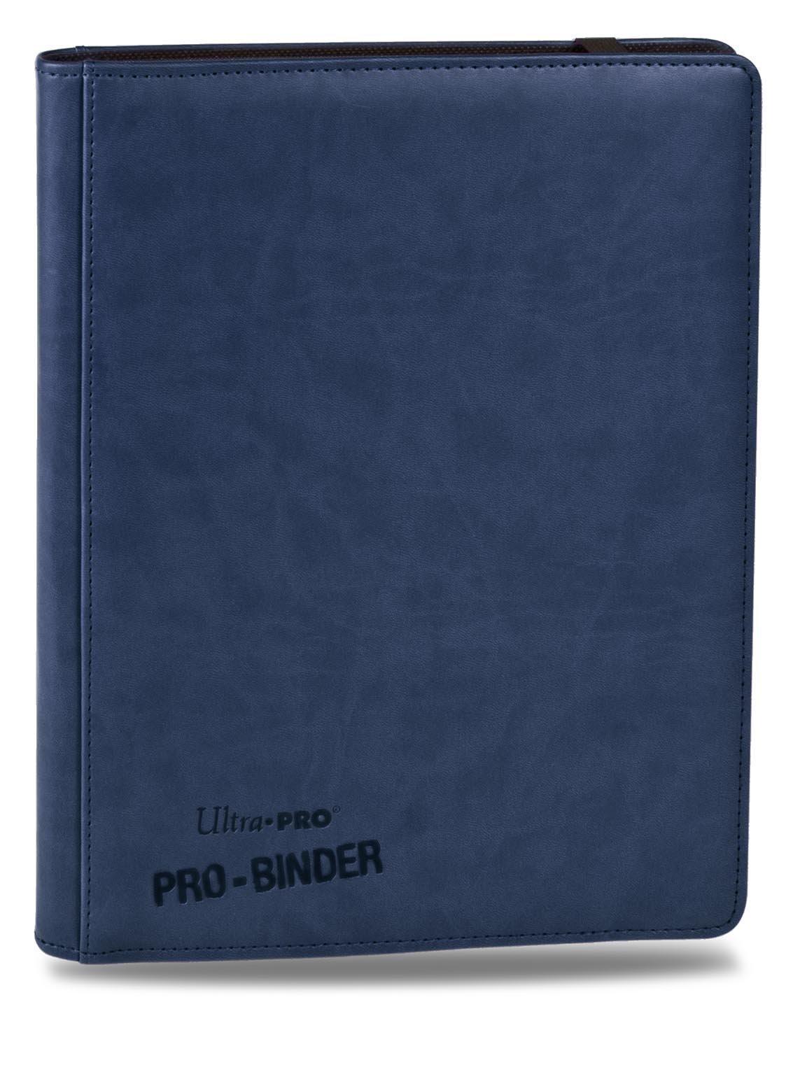 Premium PRO-BINDER 9-Pocket Cards, Blue