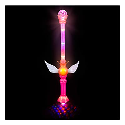 "21"" LIGHT-UP ROYAL SCEPTER: Toys & Games"