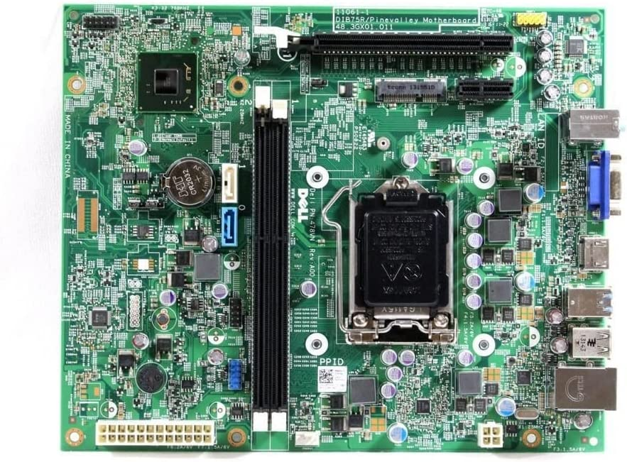 Dell Vostro 270 Inspiron 660 Motherboard 0478VN 11061-1 DIB75R XFWHV 478VN 48.3GX01.011