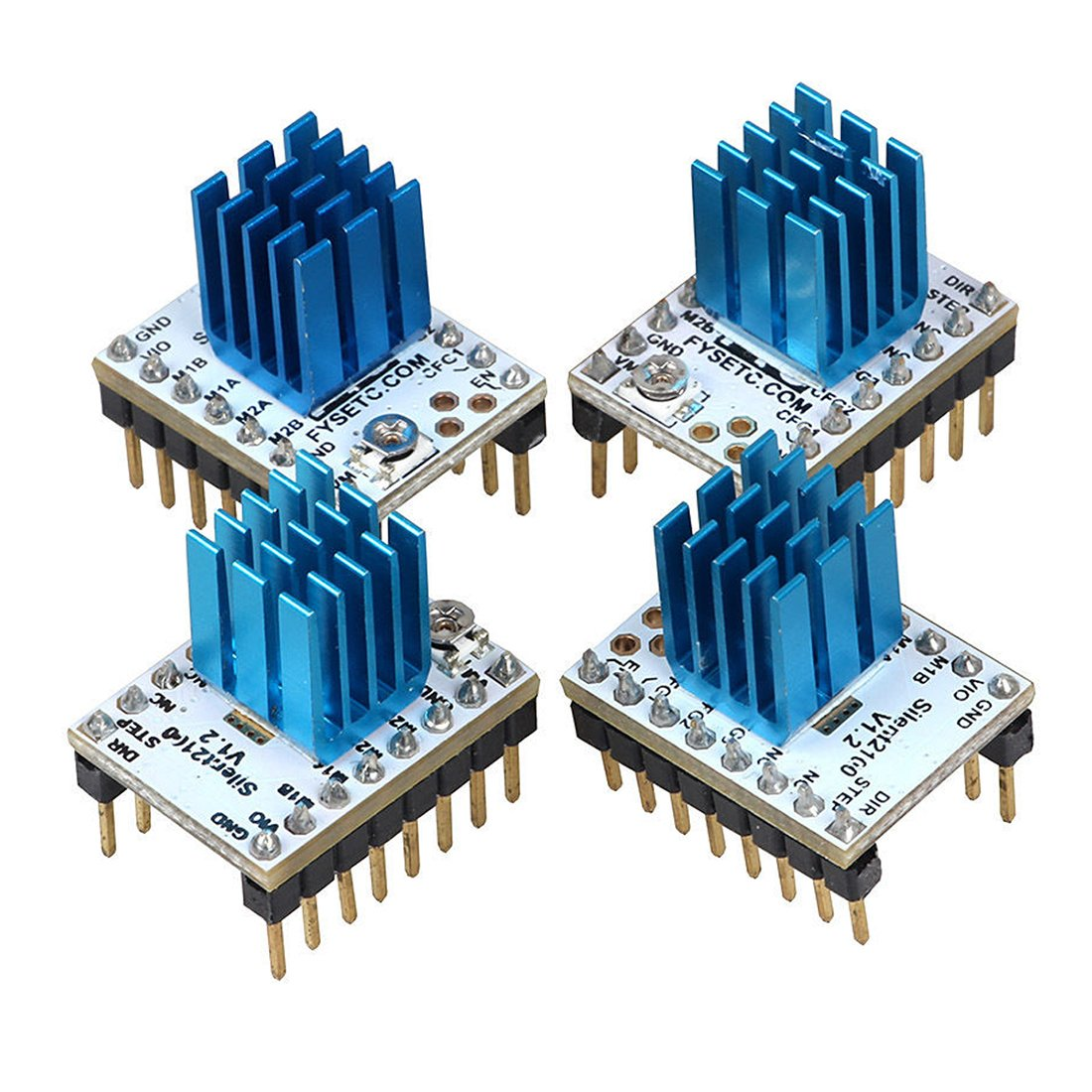SODIAL (R) 3d impresora motor drive para anycubic tmc2100 ...