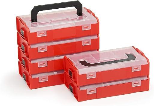 Bosch Sortimo L Boxx Mini | Caja de Almacenaje Tornillos con Tapa