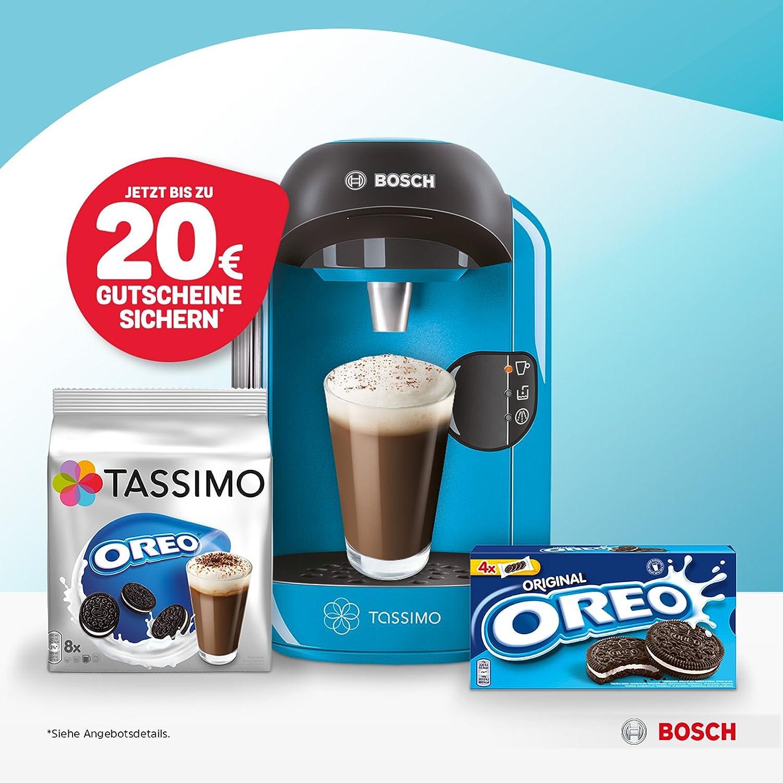 Bosch Tassimo Vivy Bundle Azul + Oreo tdisc + Oreo Galletas Bundle ...