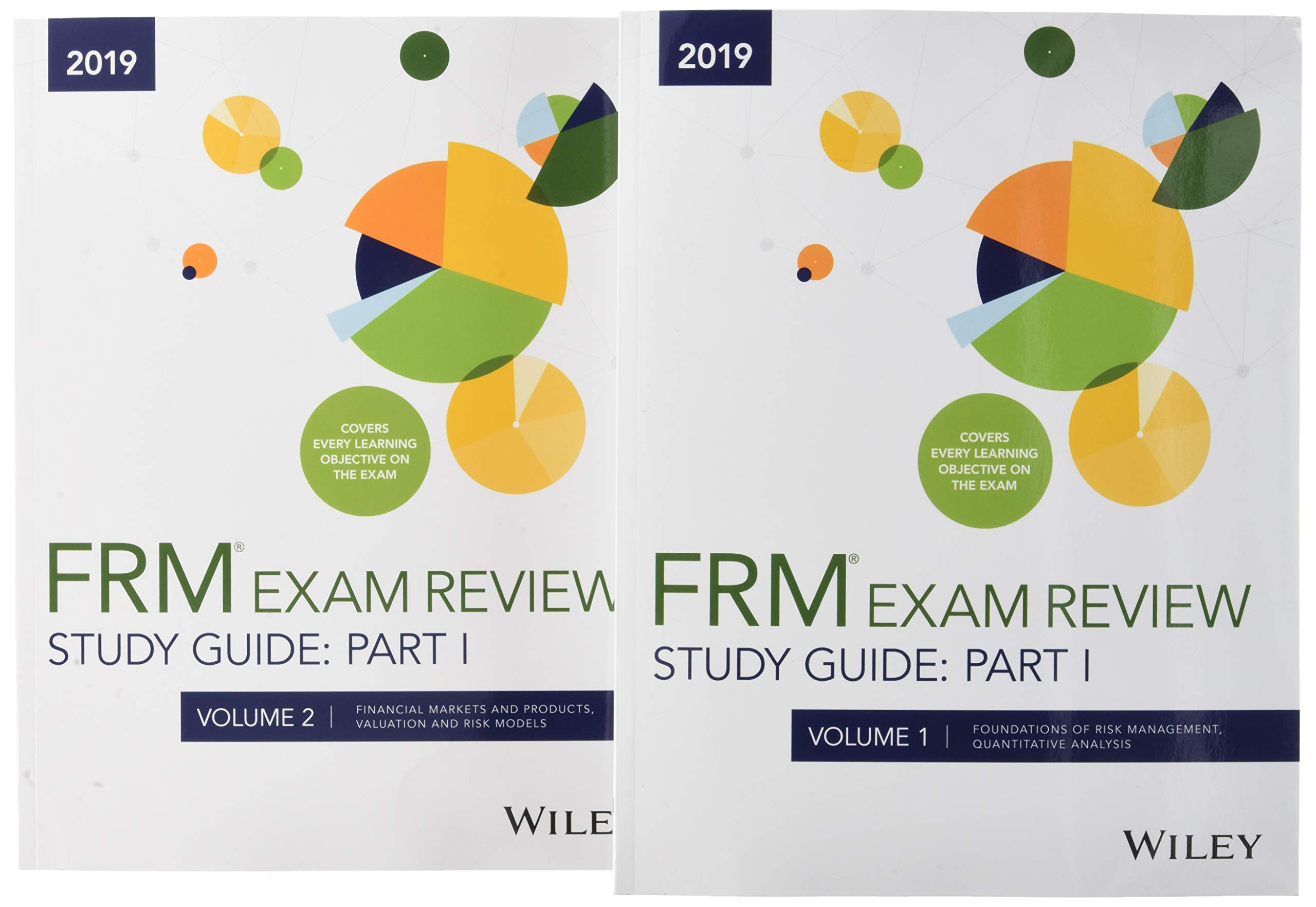 Buy Wiley Study Guide for 2019 Part I FRM Exam: Complete Set Book