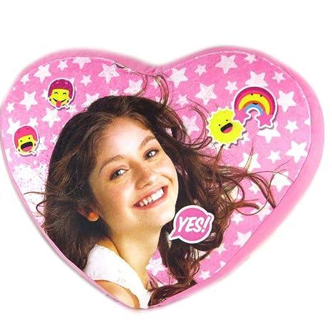 Cojín de corazón Soy Lunase levantó - 38x33.5x3 cm ...
