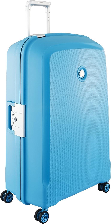 DELSEY Paris Belfort Plus Maleta, 82 cm, 136 Liters, Azul (Bleu Vert)