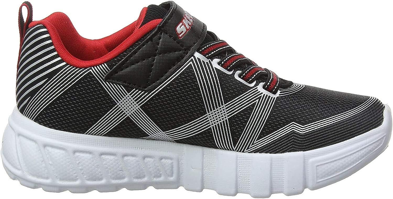 Skechers Flex-Glow, Zapatillas para Niños, Negro (Black Textile ...