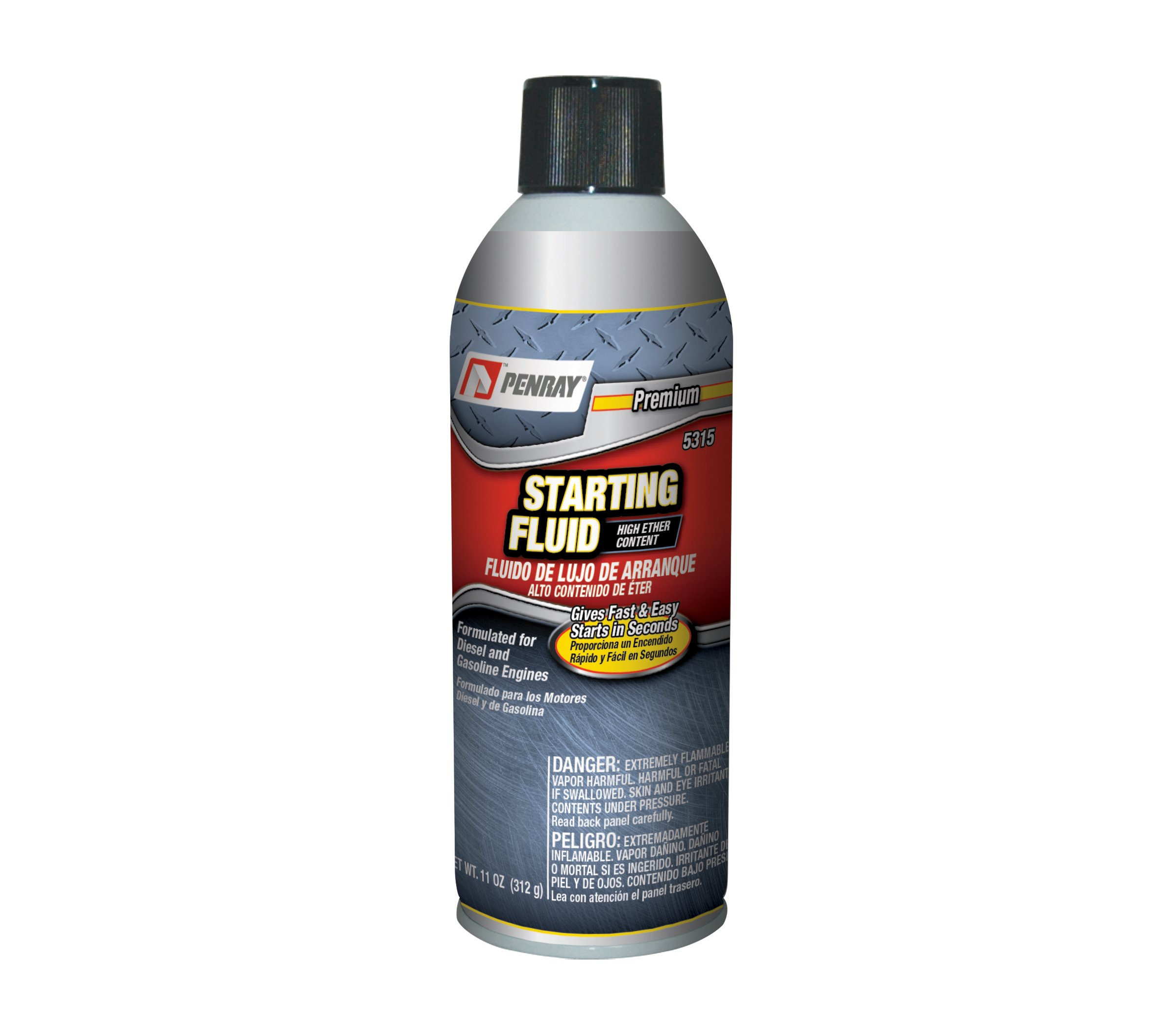 Penray 5315 High Ether Content Starting Fluid - 11-Ounce Aerosol Can by The Penray Companies