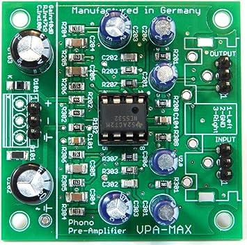 Phonovorverstärker Vpa Max Hochwertiger Stereo Elektronik