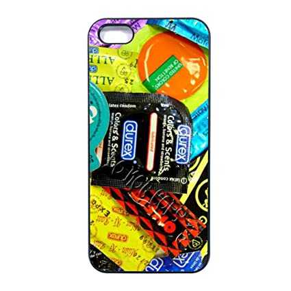 Amazon.com: condom iphone 5 case/Iphone 5S case/iphone SE ...