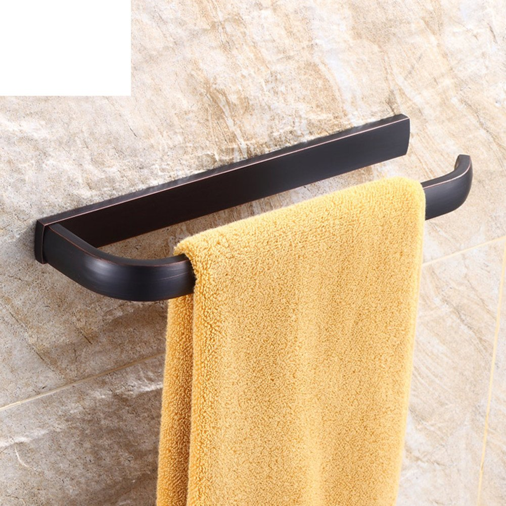 Brass Towel rack black/European style Towel Bar/antique towel/vintage Towel Bar/American-style bathroom accessories-B on sale