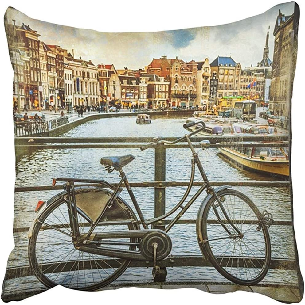 Sonder-Shop Funda De Almohada De Tiro Polyeste Travel Canales Y ...