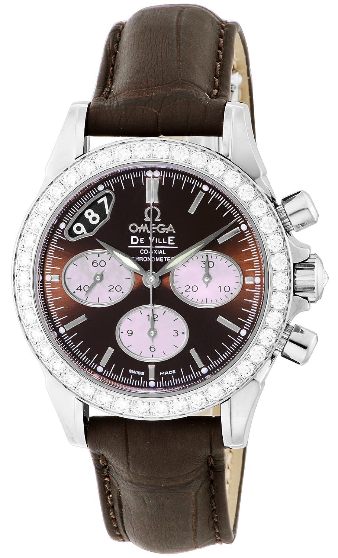 [オメガ]OMEGA 腕時計 デビル ブラウン文字盤 コーアクシャル自動巻 クロノグラフ 422.18.35.50.13.001 レディース 【並行輸入品】 B00CE5PKJU