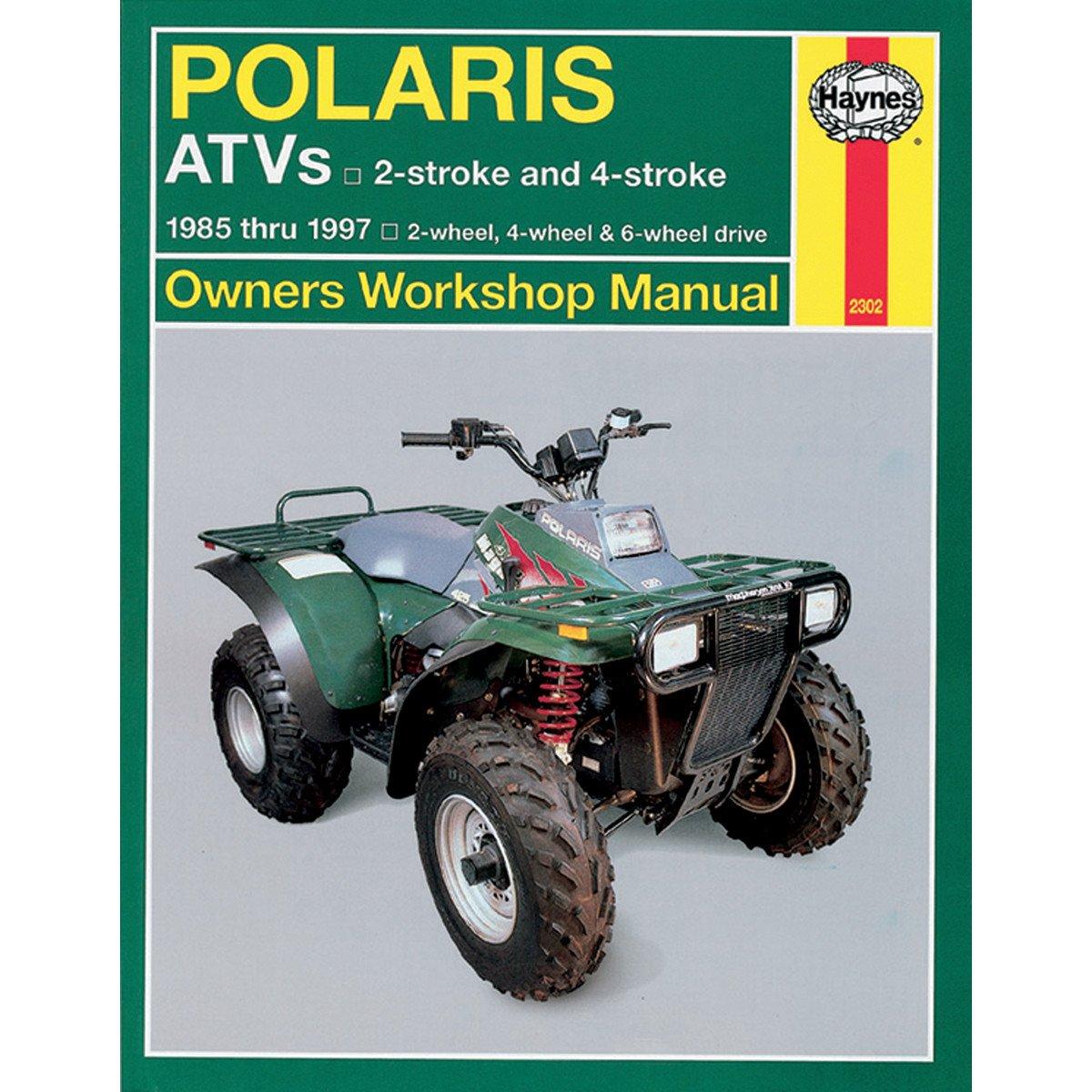Haynes 2302 Repair Service Manual Polaris Atvs All 1999 Sportsman 500 Igntion Wiring Diagram 1985 1997 Automotive