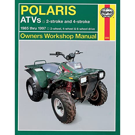 amazon com haynes 2302 repair service manual polaris atvs all rh amazon com Polaris Trailblazer 250 Carburetor Diagram Polaris Trailblazer 250 Parts Diagram