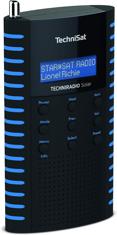 TechniSat TechniRadio Solar Nero