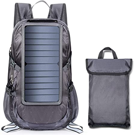 ECEEN Foldable Compact Durable Solar Backpack