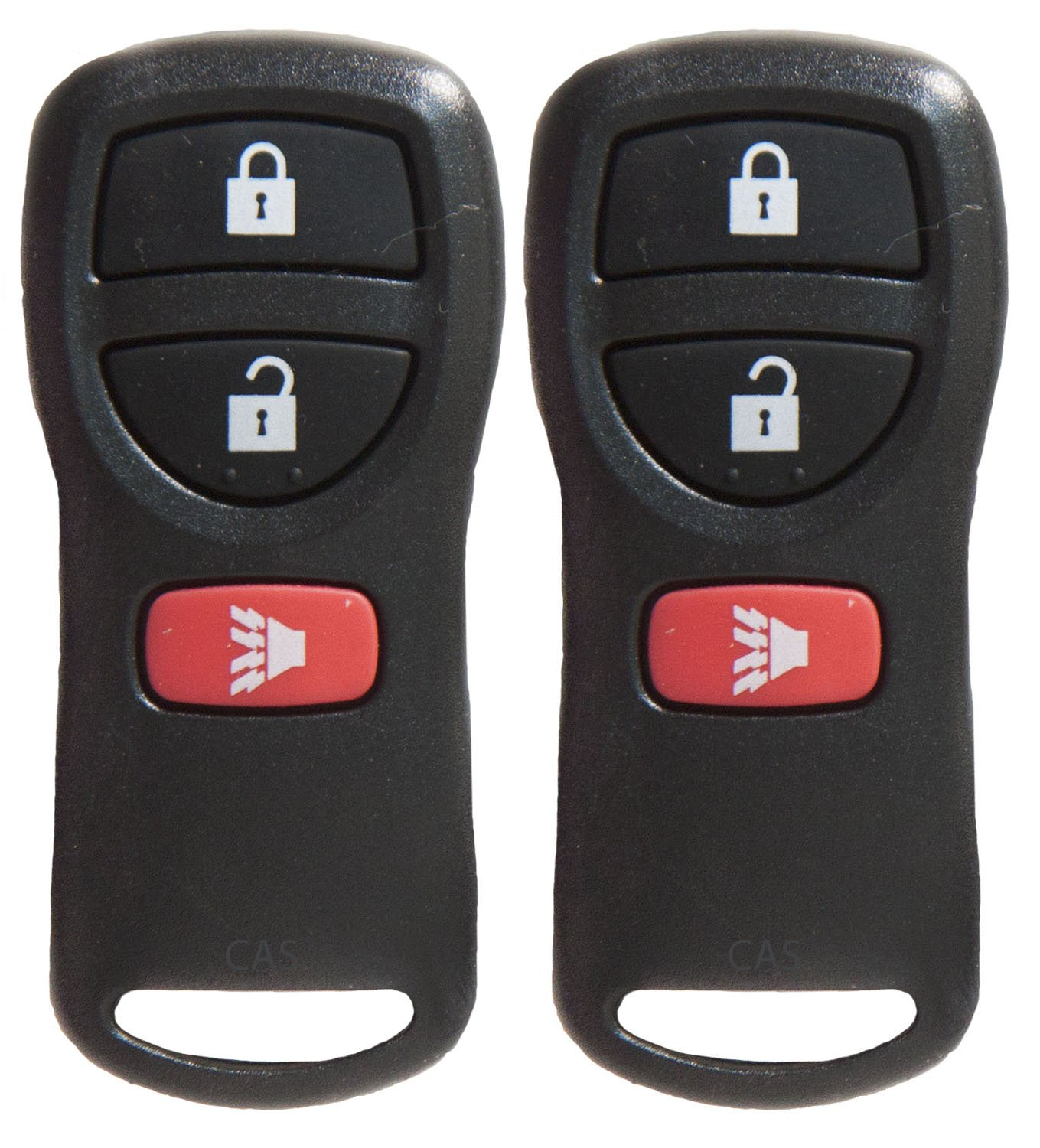 CanadaAutomotiveSupply © - 2 New Keyless Entry 3 Button Remote Car Key Fobs for Select Nissan Infiniti With Free Programming Guide 5828