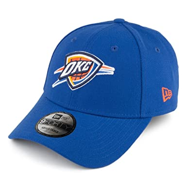 9c6590a8c74 Image Unavailable. Image not available for. Color  New Era NBA 9FORTY  Oklahoma City Thunder Hat The League ...