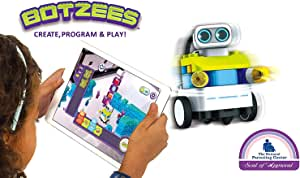 PAI TECHNOLOGY Botzees Building and Coding Robots for Kids with Puzzles, Augmented Reality Stem Toy, Educational Engineering, Ages 4,5,6,7,8,9,10+ Year Old Boys & Girls (App Based), Multiple Builds