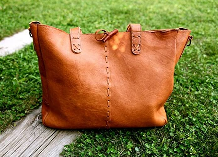 Amazon.com: BOHO Leather BAG // Boho leather shoulder bag / Big ...