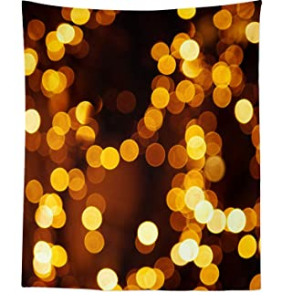 Berrykey Wall Hanging Tapestry – Light Aurora – Photography Home Decor Living Room – 51 x 60 Inch