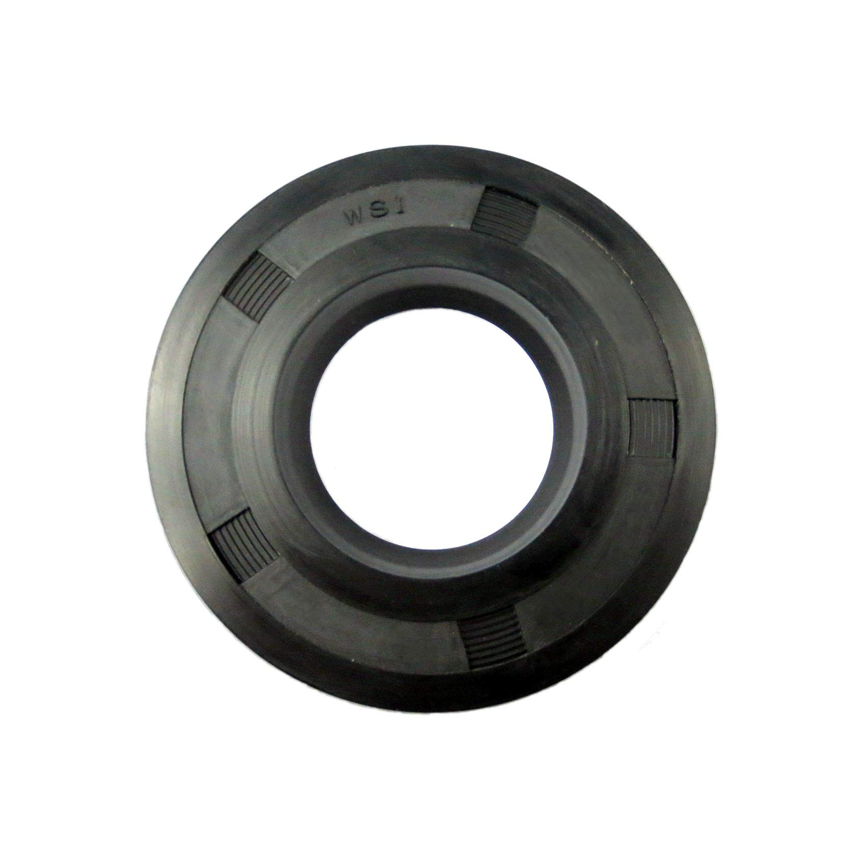 WSI 30x47x5mm R21/SC Single Lip Nitrile Rotary Shaft Oil Seal with Garter Spring, Great Wear Resistance And Sealing Effect for General Machinery, Transport, Motorcycles, Agriculture, Pumps, Mining
