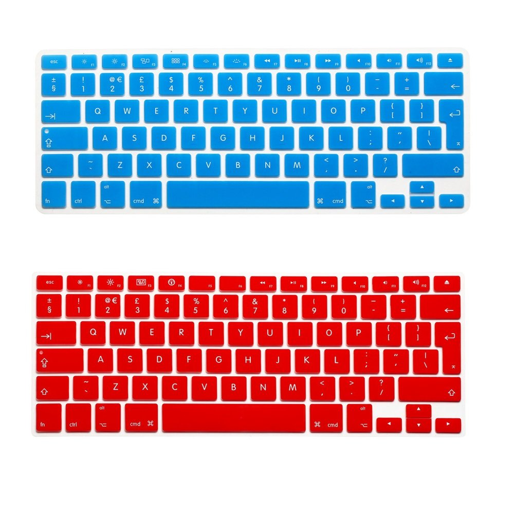 Befor 2016.10 US Layout - Clear i-Buy Ultra Thin Clear TPU Keyboard Cover Film for Macbook Air 13 and Pro 13 // 15 inch