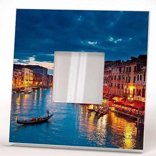 Gran Canal Venecia Espejo De Pared Marco Enmarcado Italia Foto Arte ...