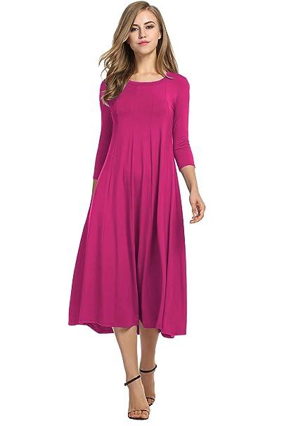 Elegante vestido de mujer de Hotouch, ideal como regalo de Navidad, estilo swing,