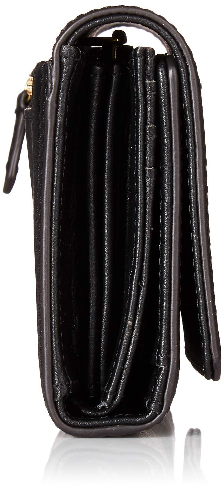 Fossil Logan RFID Flap Clutch Black by Fossil (Image #3)