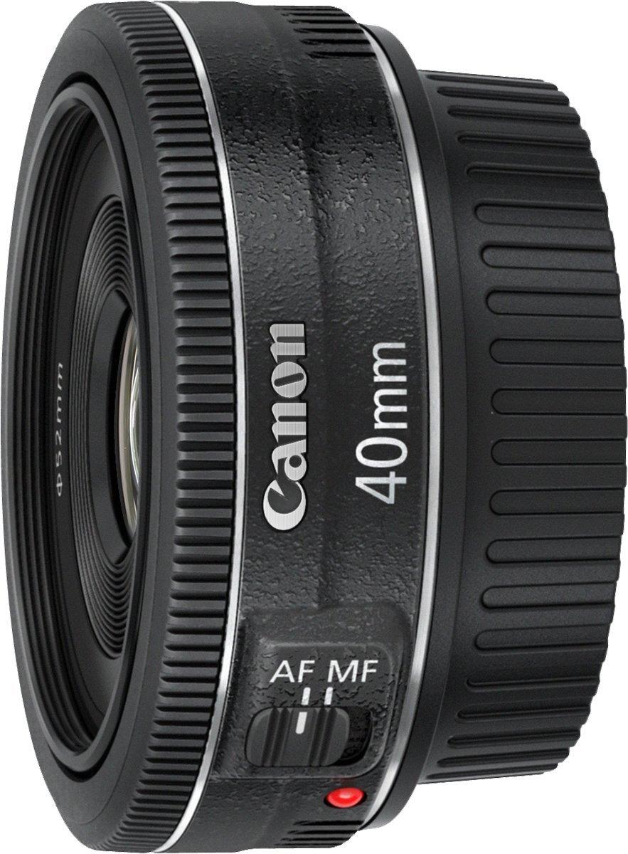Canon EF 40mm 1:2,8 STM Objektiv schwarz: Amazon.de: Kamera