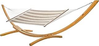 product image for Hatteras Hammocks Sunbrella Large Quilted Hammock - Regency Sand