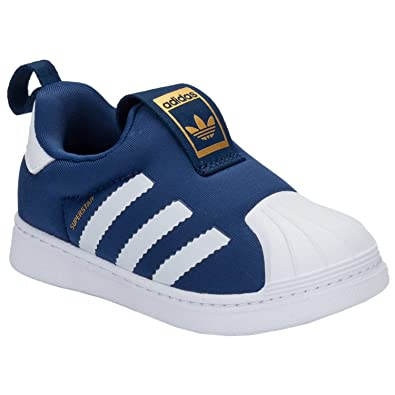 eeae343858415 Baskets adidas Originals Superstar 360 pour bébé garçon - Bleu Marine -  24.5 EU