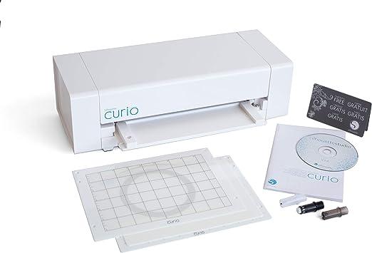 Graphtec GB Ltd Herramienta de Corte y Grabado, Marca Curio, Color Blanco: Amazon.es: Hogar
