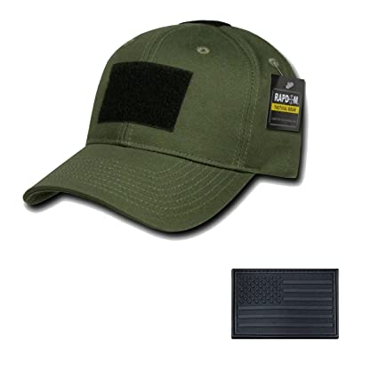 RAPDOM Genuine Tactical Constructed Ball Operator Cap Olive Caps with Free  Patch (Olive 91ff6e16e17