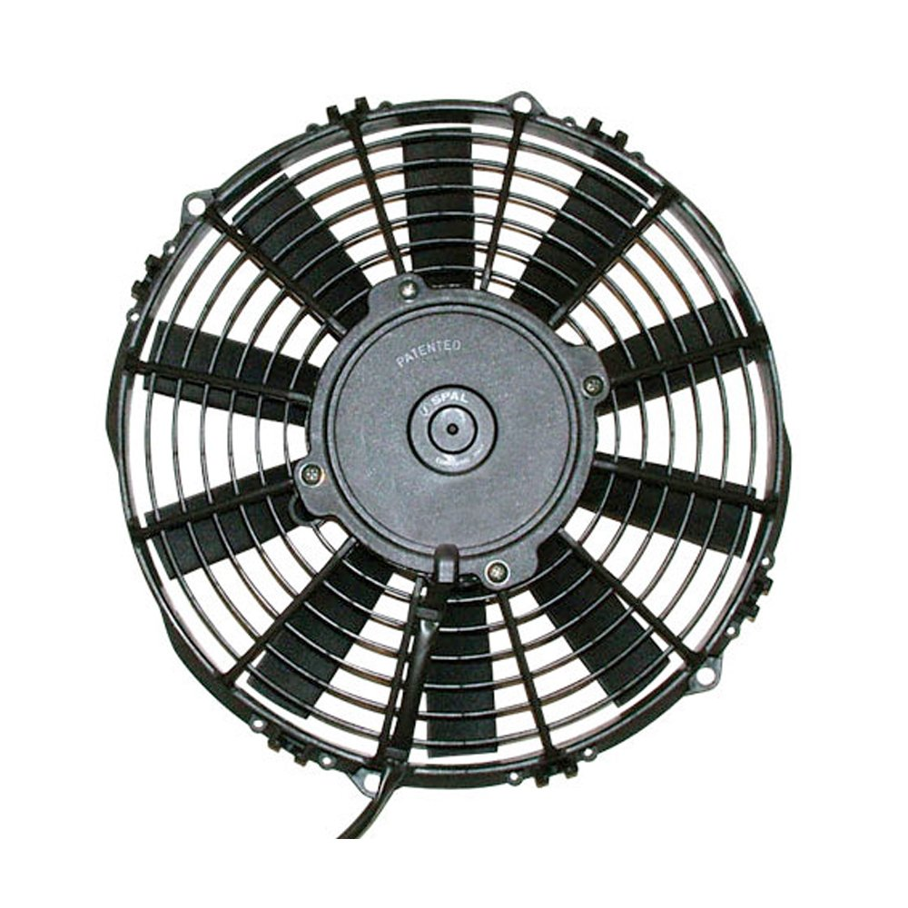 Spal 30101504 12'' Straight Blade Low Profile Fan by Spal