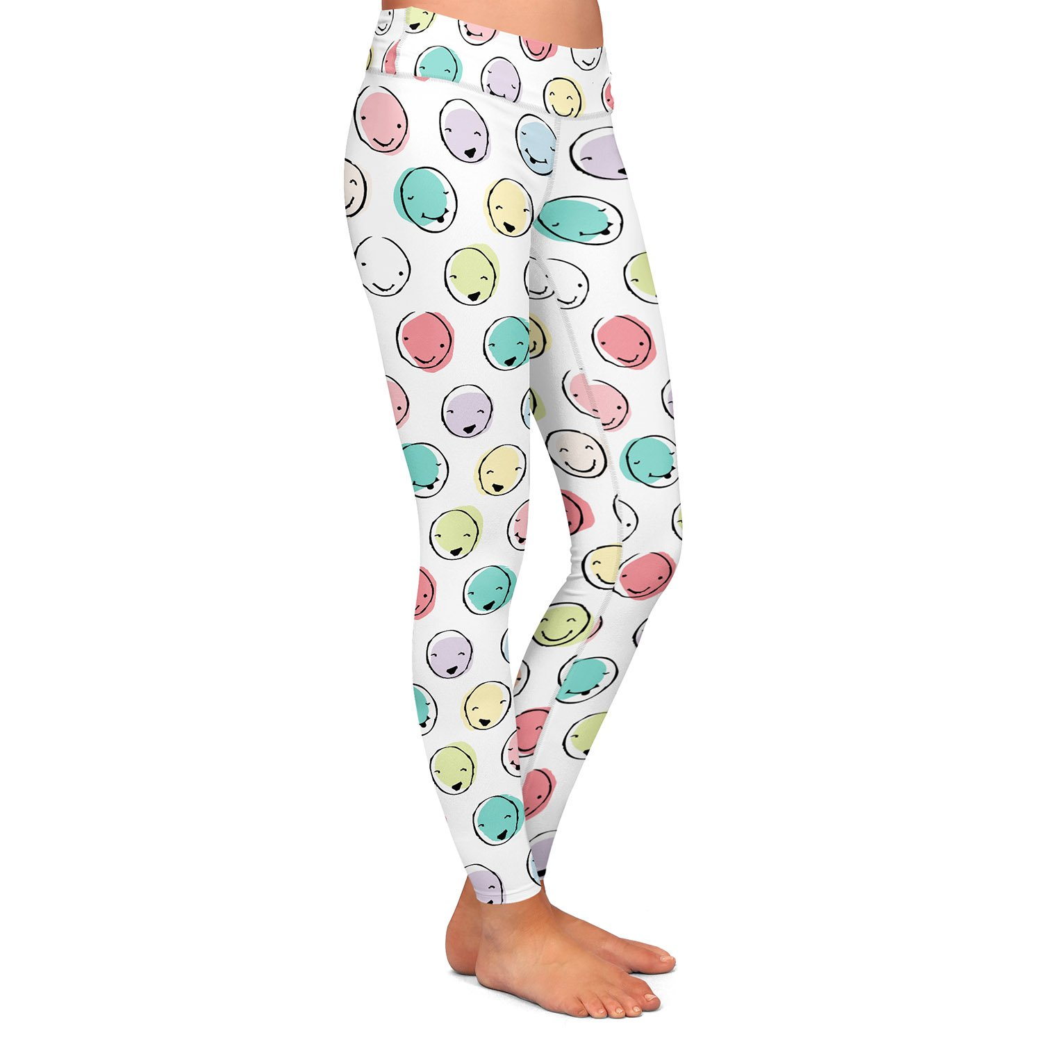 Athletic Yoga Leggings from DiaNoche Designs by MaJoBV Smilies