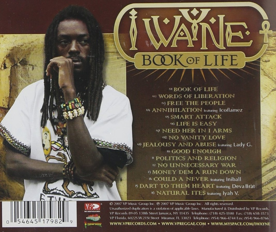 wayne book i life the of