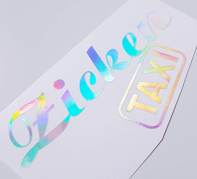 Schönheits Shop Zicken Taxi Flip Flop Farbwechsel Hologramm Effekt Fun Girl Frauenauto Aufkleber Tuning School Roller Motorrad Turbo Auto