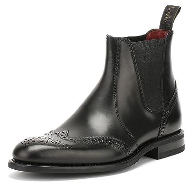 bfc29e33f12 Loake Mens hoskins Leather Brogue Boots: Amazon.co.uk: Shoes & Bags