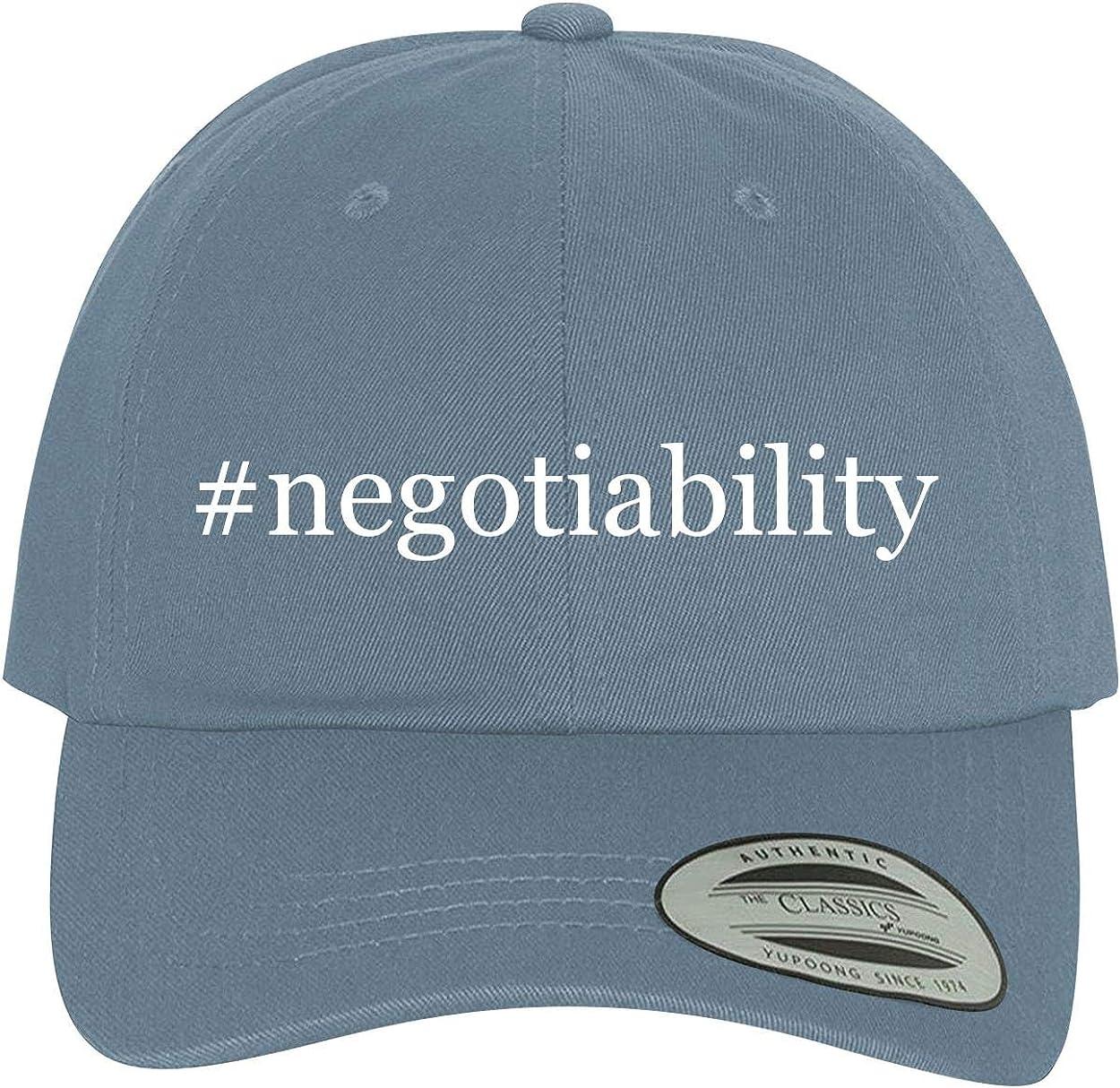 BH Cool Designs #Negotiability Comfortable Dad Hat Baseball Cap
