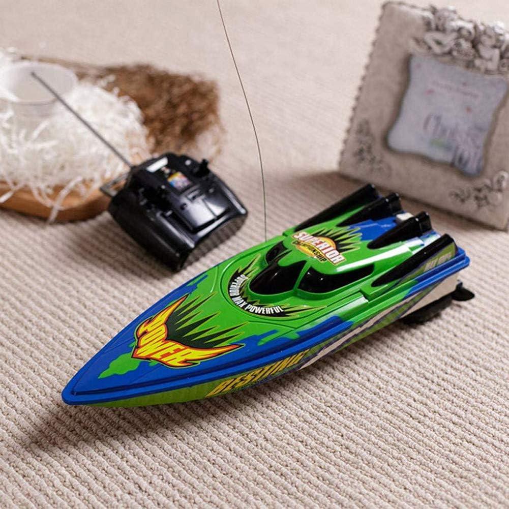 Izzya RC Barca Telecomandata Motoscafo Ricaricabile Barche Modello Giocattolo per Bambini e Adulti 2.4GHz Radiocomandato Barca Telecomando Barche