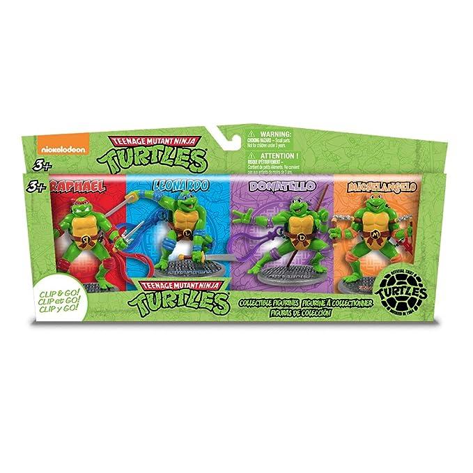 Amazon.com: Jamn productos TMNT cifras Set (4 piezas): Toys ...