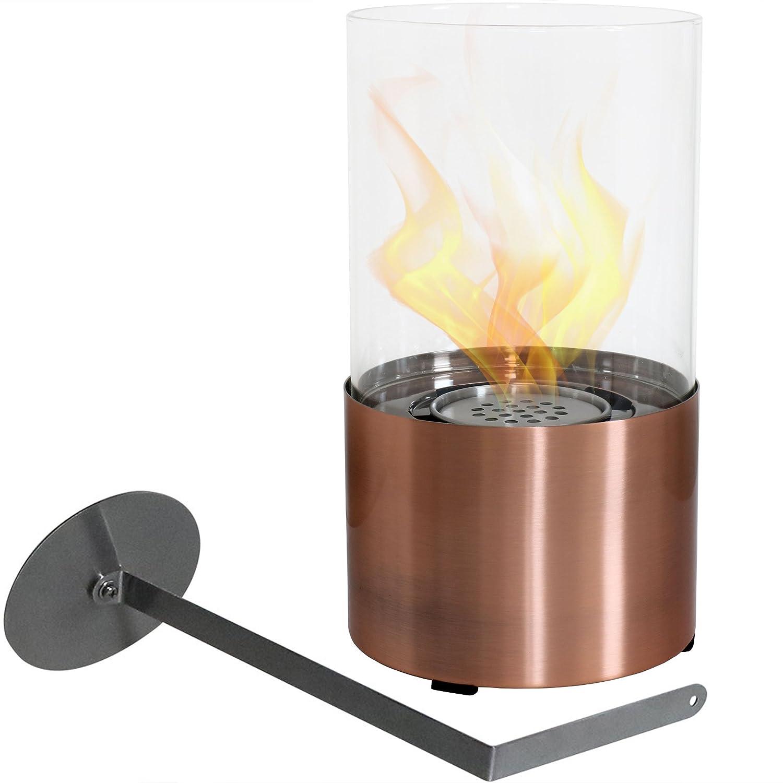 Amazon Com Sunnydaze Fiammata Tabletop Fireplace Indoor Ventless